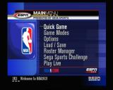 NBA 2K3 Xbox Main Menu