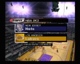 NBA 2K3 Xbox The match between Nets and Lakers is about to begin