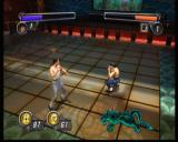 Bruce Lee: Quest of the Dragon Xbox When you lock on to the enemy, your controls will become easier for mano-a-mano fight