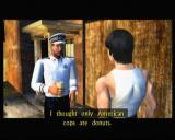 Bruce Lee: Quest of the Dragon Xbox Bruce getting acquainted with different cultures