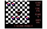 Mind-Roll TRS-80 CoCo Five second penalty for crashing (Coco 1 & 2)