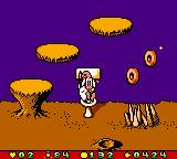 "Earthworm Jim: Menace 2 the Galaxy Game Boy Color Jim founds a ""shortcut""... ;-D"