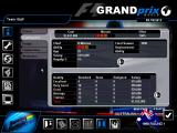 Grand Prix World Windows Staff screen; hire and fire personnel