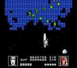 Silver Surfer NES Attacking a swarm of green dots.
