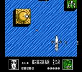 Silver Surfer NES Silver Surfer is under fire by cannons in the water.