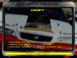 TOCA Touring Car Championship Windows Selecting Croft Circuit