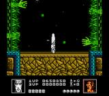 Silver Surfer NES Arms reach out from the walls to throw fireballs.