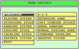 Tracksuit Manager Atari ST Tactical choices are more involved than in most games of the day