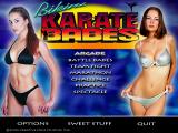 Bikini Karate Babes Windows Main Menu