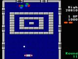 Arkanoid TRS-80 CoCo Silver bricks require multiple hits to destroy (Coco 3)
