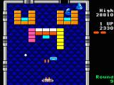 Arkanoid TRS-80 CoCo Not even lasers can help you destroy gold bricks (Coco 3)