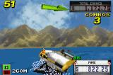 "Crazy Taxi: Catch a Ride Game Boy Advance Shocking against an invisible ""sea barrier""."