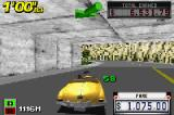 Crazy Taxi: Catch a Ride Game Boy Advance Be fast, because the next delivery point is some meters after this tunnel!