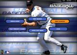 Microsoft Baseball 2000 Windows Main menu