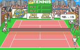 Pro Tennis Simulator Atari ST About to win a game