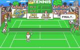 Pro Tennis Simulator Atari ST The line judge chips in