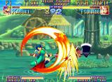 Kabuki Klash Neo Geo Accurate hit: in a perfect moment, Kabuki's RaSaitoh breaks Tsunade's ground advantage!