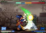 The Last Blade 2 Neo Geo Amano's Hisshi move slashes Moriya in an incautiousness moment: good job!