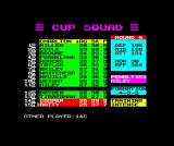 Cup Manager ZX Spectrum Players can be injured in training