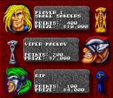 Rock n' Roll Racing SNES Race results.