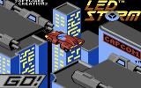 L.E.D. Storm Commodore 64 Loading screen