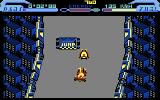 L.E.D. Storm Commodore 64 Driving on the first level...