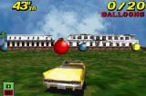 Crazy Taxi: Catch a Ride Game Boy Advance Crazy Balloons mini-game: using speed and strategy, 20 balloons must be popped successfully.