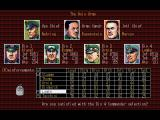 Operation Europe: Path to Victory 1939-45 DOS Selecting nazi officers to have under command.