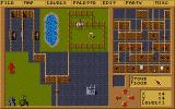 Omnitrend's Paladin II DOS The Quest Builder interface