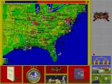 The Civil War DOS The Map (aka Strategic Mode)