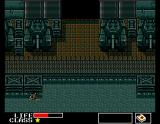 Metal Gear MSX Starting location: different from NES version