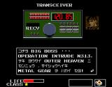 Metal Gear MSX Big Boss explains to you the mission