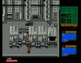 Metal Gear 2: Solid Snake MSX Snake is crawling