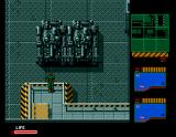 Metal Gear 2: Solid Snake MSX From this balcony you can see a tank