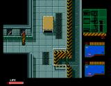 Metal Gear 2: Solid Snake MSX This corridor has several exits