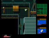 Metal Gear 2: Solid Snake MSX The different patterns on the floor mean the guards will hear your footsteps in this area