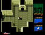Metal Gear 2: Solid Snake MSX Be careful of that thing in the middle of the room. It's a sensor