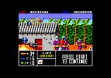 Operation Thunderbolt Amstrad CPC Just been knifed