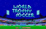 Rick Davis's World Trophy Soccer DOS Title screen #2