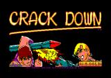 Crack Down Amstrad CPC Loader