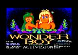 Wonder Boy Amstrad CPC Title