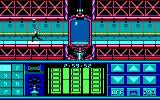 Impossible Mission II DOS Running through the corridors