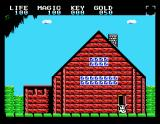 Legacy of the Wizard MSX Outside your house