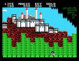 Legacy of the Wizard MSX Beautiful castle