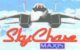 SkyChase Atari ST Title screen