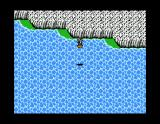 Final Fantasy MSX Cruising over mountains and sea