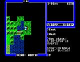 Ultima IV: Quest of the Avatar MSX Exploring the island you are on