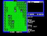Ultima IV: Quest of the Avatar MSX Fighting a snake. If it attempts to run and you let it do so, you'll gain Compassion points
