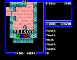"Ultima IV: Quest of the Avatar MSX behind the ""Prison"" shield there are some weird fields"
