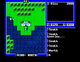 Ultima IV: Quest of the Avatar MSX Outside of Lord British castle